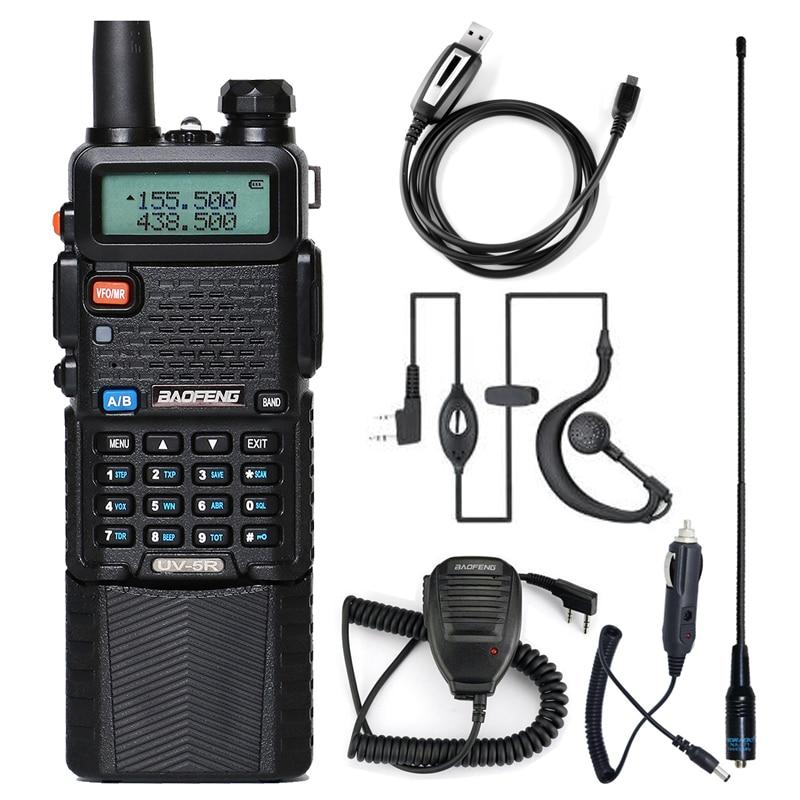 Baofeng Walkie Talkie uv 5r 3800 Dual Band VHF UHF 136-174/400-520mhz Two-way Radio walky talky uv-5r Radio Station 1