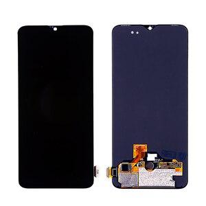 Image 2 - עבור Oneplus 6T LCD AMOLED LCD תצוגת מסך מגע Digitizer עצרת עבור Oneplus תצוגה מקורי
