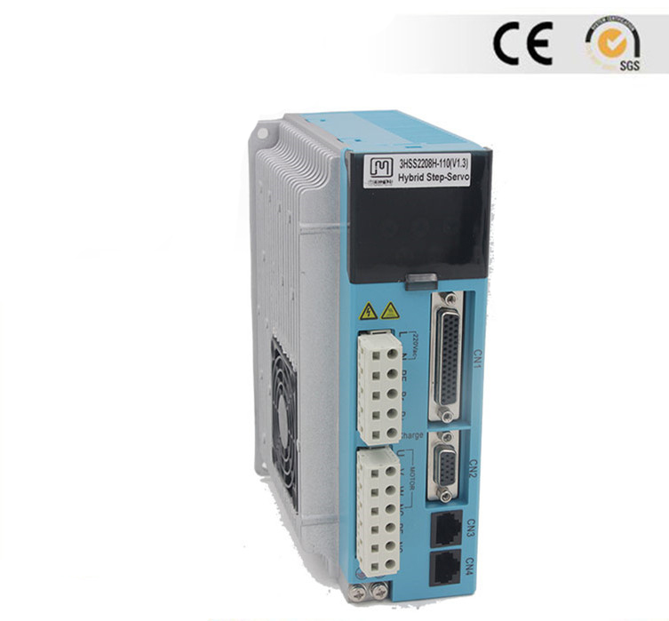 Closed loop Stepper servo driver 3HSS2208H 1p 3m encoder extend cable JMC 3 phase NEMA52 35Nm