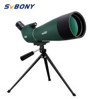 SVBONY SV28 Spotting Scope 20-60x80mm SV28 Zoom Telescope Waterproof BAK4 Prism FMC High Quality New Version F9308 for Hunting
