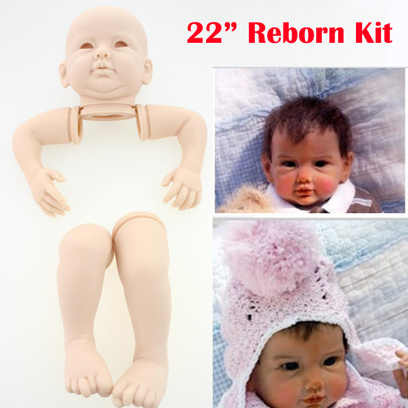 20/'/' Reborn Doll Kits With 3//4 Limbs Newborn Supply Dolls Kits For Baby Handmade