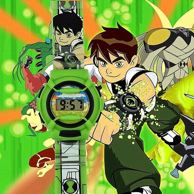 Leisure pentium ben10 watch