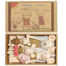 Kawaii Плюшевые 30 см кукла мышка милые плюшевые игрушки детские мягкие куклы Рождественский подарок на день рождения кукла с набивным животны...