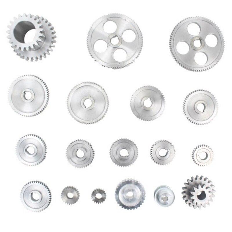 18 pièces/ensemble CJ0618 engrenages en métal Mini engrenage de tour Machine de découpe en métal