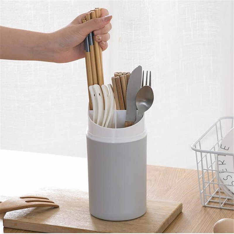 Chopstick Holder With Lid Dust Proof