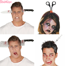 Staraise Bloody Knife Halloween Decoration Horror Headband Party Supplies 2019 Props Accessories