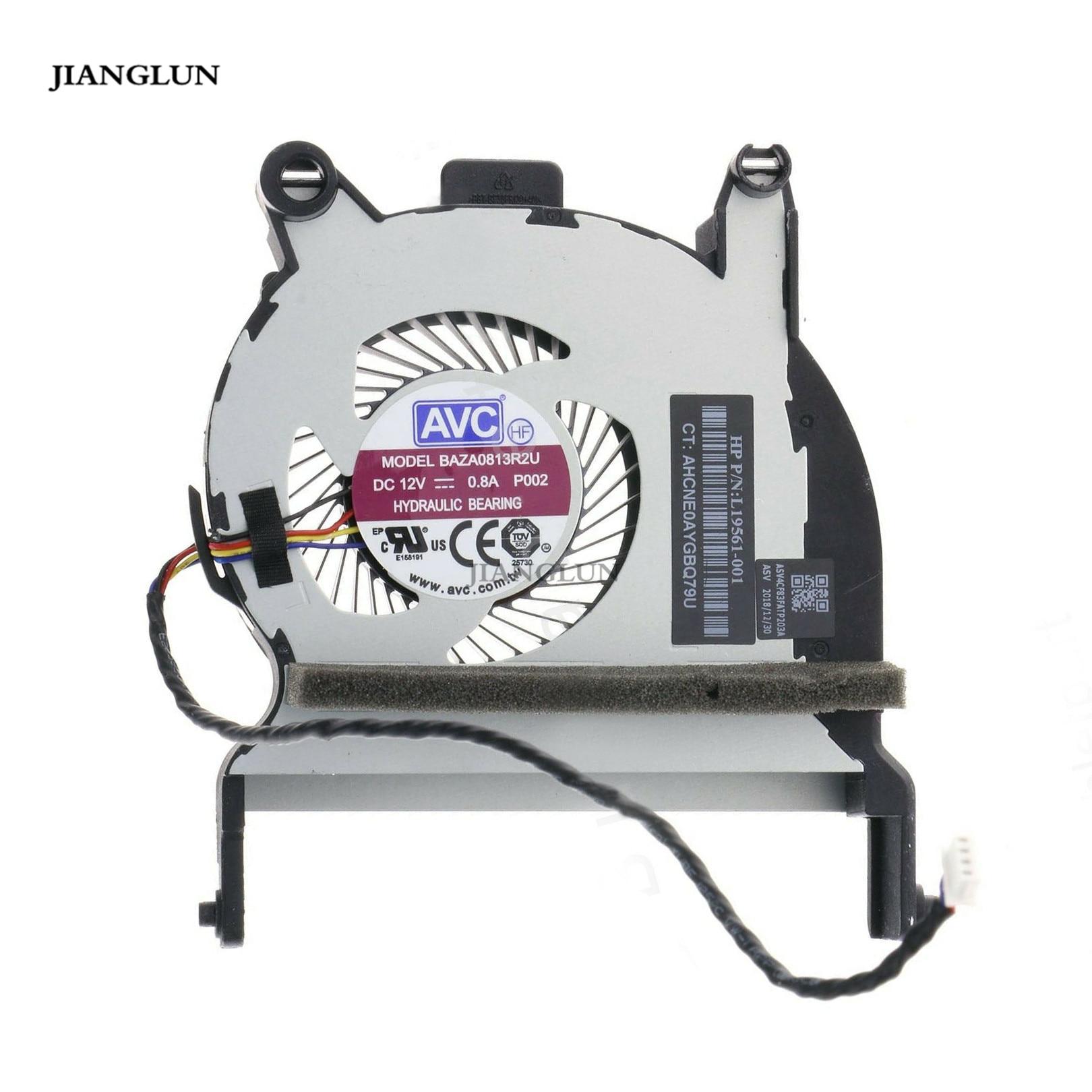 JIANGLUN Laptop For HP EliteDesk 800 G4 35W Desktop Mini PC CPU Cooling Fan L19561-001