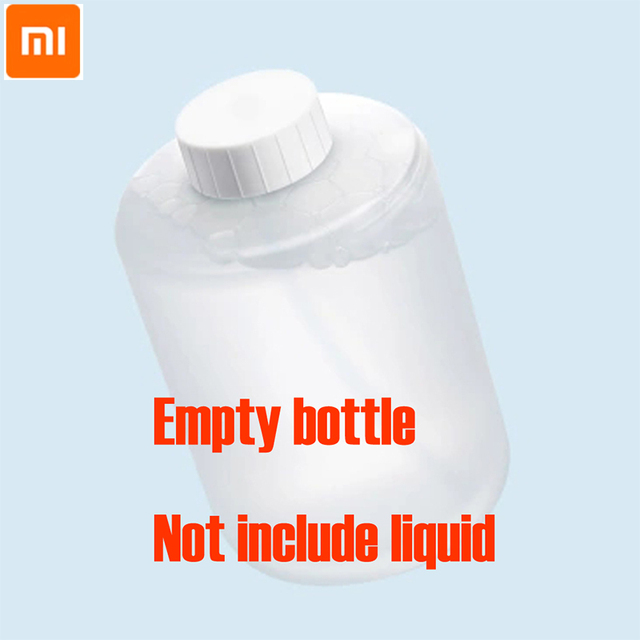 Original Xiaomi Mijia Empty bottle for Hand Washer not include liquid white pink color free shipping for mi home 1