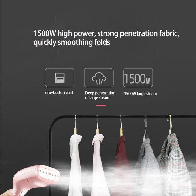 KONKA Handheld Steamer 1500W Powerful Garment Steamer Portable 15 Seconds Fast Heat Steam Iron Ironing Machine