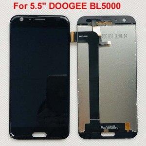 Image 1 - DOOGEE BL5000 จอแสดงผล LCD + หน้าจอสัมผัส 100% จอ LCD เดิม Digitizer เปลี่ยนแผงกระจกสำหรับ DOOGEE BL5000