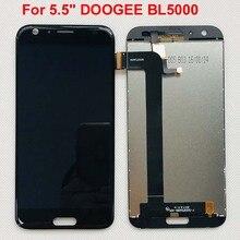 DOOGEE BL5000 wyświetlacz LCD + ekran dotykowy 100% oryginalny przetestowany wyświetlacz LCD Digitizer wymienny szklany panel do DOOGEE BL5000