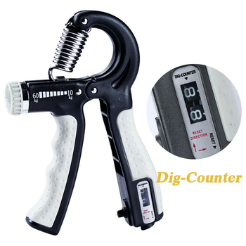 R-Shape Adjustable Countable Hand Grip Strength Exercise Gripper with Counter Durable Hand Strength Exercise Fitness Tool 2