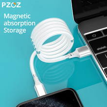PZOZ Usb cable Magnetic absorption For iphone cable