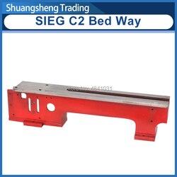 Łóżko sposób SIEG C2-001/200mm Benchtop tokarka metalowa części zamiennych