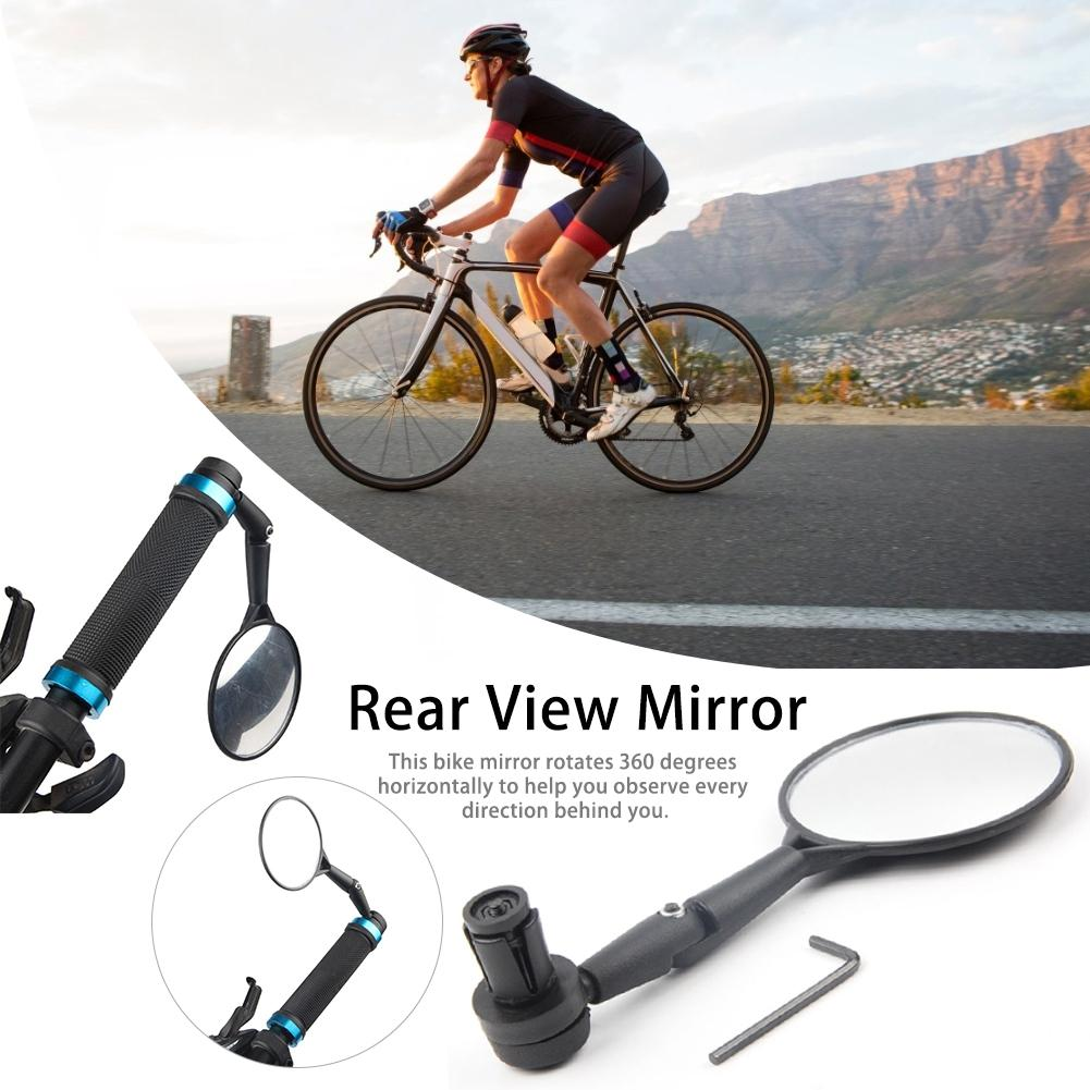 Adjustable 360 Degree Rotate Bicycle Handlebar Rear View Mirrors for Mountain Road Mtb Bike Rear View Mirror Bicycle Accessories