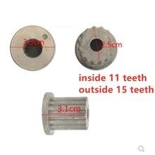 1 шт. внутри 11 зубов снаружи 15 зубов нагрузки колеса Pulsator Core для стиральной машины lg