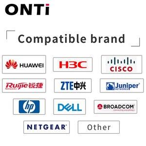 Image 5 - ONTi 40G QSFP + para QSFP + DAC Cabo 0.5M 1M 2M 3M 5M 7M Direct Attach Passiva Twinax Cabo de Cobre para Huawei Cisco Dell Zimbro