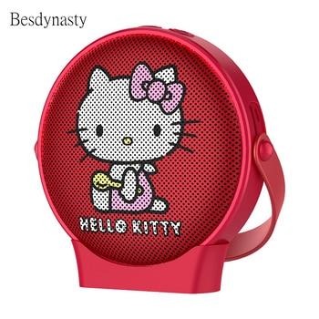 Hello Kitty Wireless Bluetooth Speaker Original Authorization Bluetooth 4.1 TFCard Play Portable Bluetooth Speaker Wireless Call