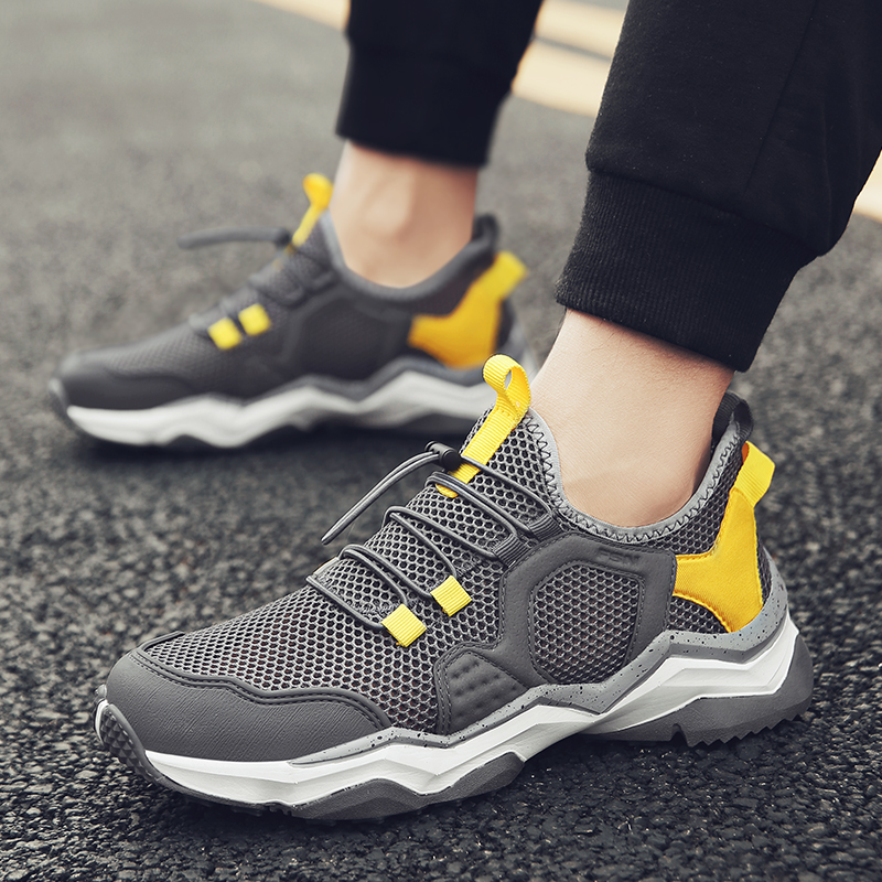 2020 Spring Autumn Light Weight Leisure Shoes For Men Comfortable Anti Slip Male Shoes Walking Sneakers Men Zapatos De Hombre