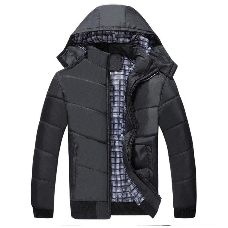 Winter Jackets Men Coats Casual Windbreaker Padded Jackets Men's Parka Warm Outwear Thicken High Quality Jakcets Plus Size,GA461