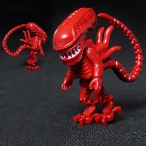Horror Movie Alien VS Predator Blocks Mini Action Figure Toys