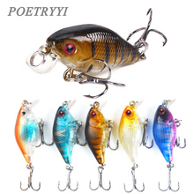 цена YOETRYYI 4.5cm 4.35g Crankbait Fishing Lure Artificial Crank Hard Bait Topwater Minnow Fishing Wobblers Japan Fish Lures  30 онлайн в 2017 году