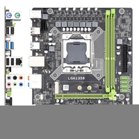 X79A Server Memory Accessories Parts Professional PCI E Motherboard Computer Accessories CPU Stable Game 1356 Electronic Sports