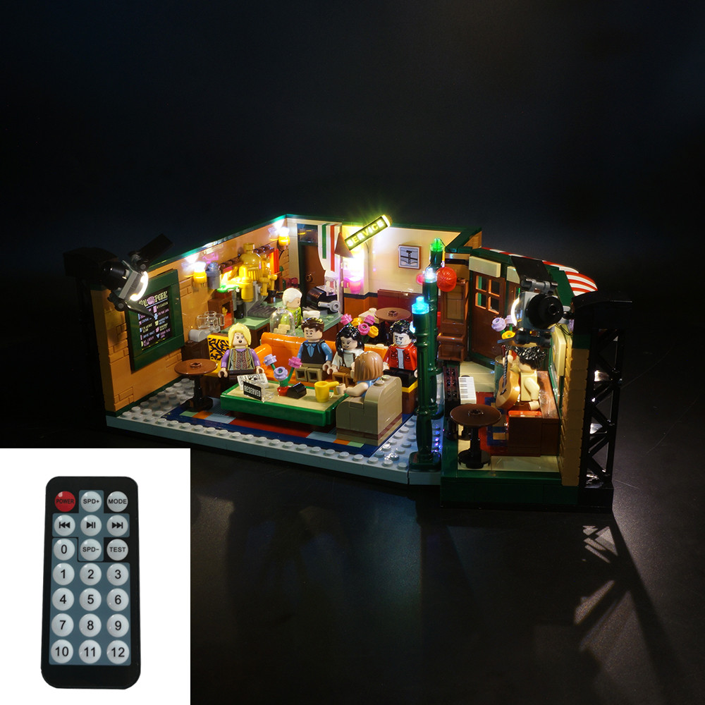 LED Light Kit For 21319  The Television Series Friends Coffee Shop (only Light Included)