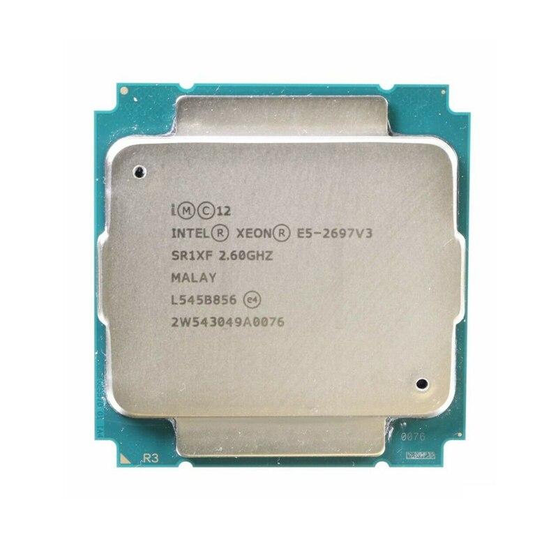 Intel Ксеон E5 2697V3 E5 2697 V3 процессор 14-core 2,60 ГГц 35 Мб 22nm LGA 2011-3 TDP 145W Процессор