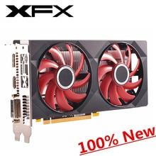 100% neue XFX RX 550 2GB Grafikkarten GPU AMD Radeon RX550 2G Video Desktop PC Computer Spiel videocards Bildschirm Karte VGA DVI HDMI
