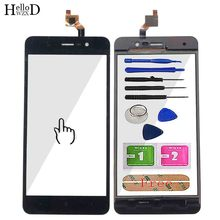 цены Touch Screen Panel For BQS5591 BQ-5591 BQ 5591 Touch Screen Digitizer Front Glass Lens Sensor Panel Replacement Tools 3M Glue