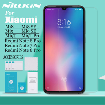 Nillkin for Xiaomi Mi 9 Mi9 Lite Mi 8 SE 9T Pro A3 Mi9T Glass Screen Protector Safety Tempered Glass on Redmi Note 8T/8/7/6 Pro