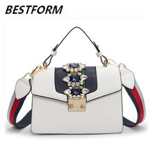 Luxury Handbags Women Bags Designer Brand Famous Diamond Fashion Shoulder Bag Women Ladies Crossbody Messenger Handbag Rivet Bag