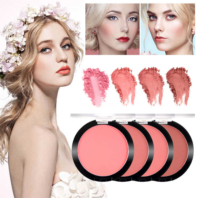 SACE LADY Make up Blush, fard Tavolozze di Lunga Durata Blush, fard Viso contorno Tavolozze Bellezza Naturale Cosmetico Professionale Per Il Make up TSLM1