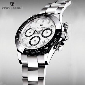 PAGANI DESIGN 2020 New Men's Watches Quartz Business watch Mens Watches Top Brand Luxury Watch Men Chronograph Relogio Masculino