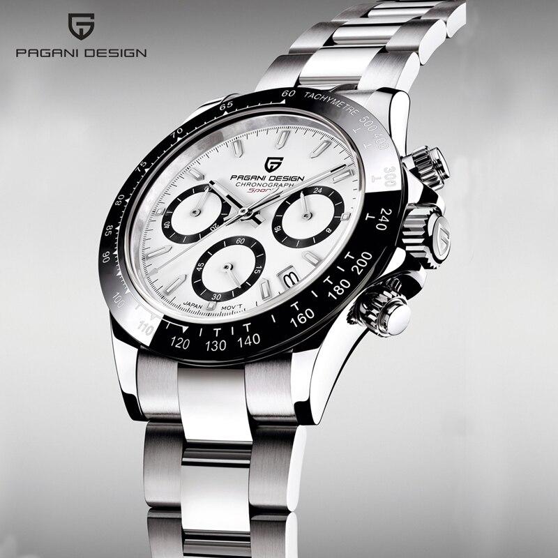 PAGANI DESIGN 2020 nouveau hommes montres Quartz affaires montre hommes montres haut de gamme de luxe montre hommes chronographe Relogio Masculino