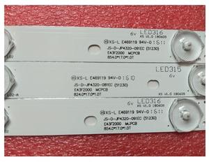 """Image 3 - New 3 PCS LED backlight strip for 43"""" TV AKAI AKTV432 AKTV401 AKTV403 AKTV4021 JS D JP4320 081EC 091EC E43F2000 D43 F2000"""