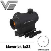 ベクトル光学異端児 AR15 M4 1 × 22 タクティカルレッドドットスコープと 20 ミリメートルクイックリリース高ライザーピカティニーマウントベース