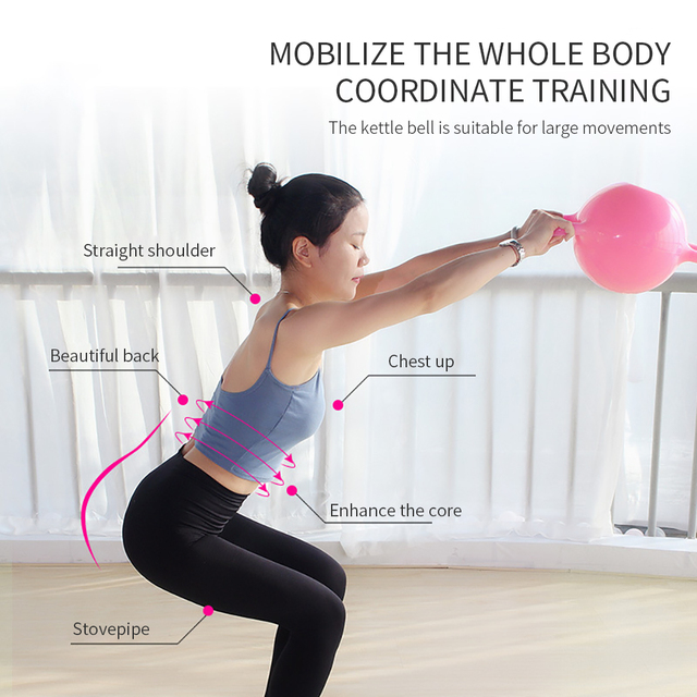 Yoga Fitness Kettle Bell  2