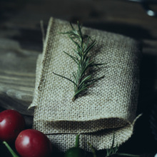 Jute Burlap Manual Photography Props Background