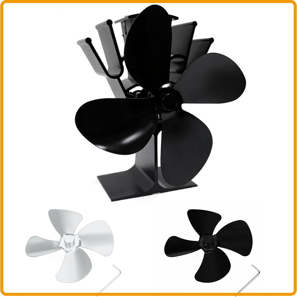 Grab Fast Hot Sale Large Airflow Aluminum Alloy 4 Blades Fan