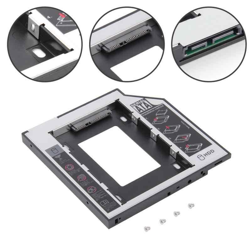 12,7mm Aluminium 2nd Zweite Hdd Caddy SATA 3,0 2.5 ''SSD DVD CD-ROM Gehäuse Adapter Festplatte Für thinkPad E420 E425 E430