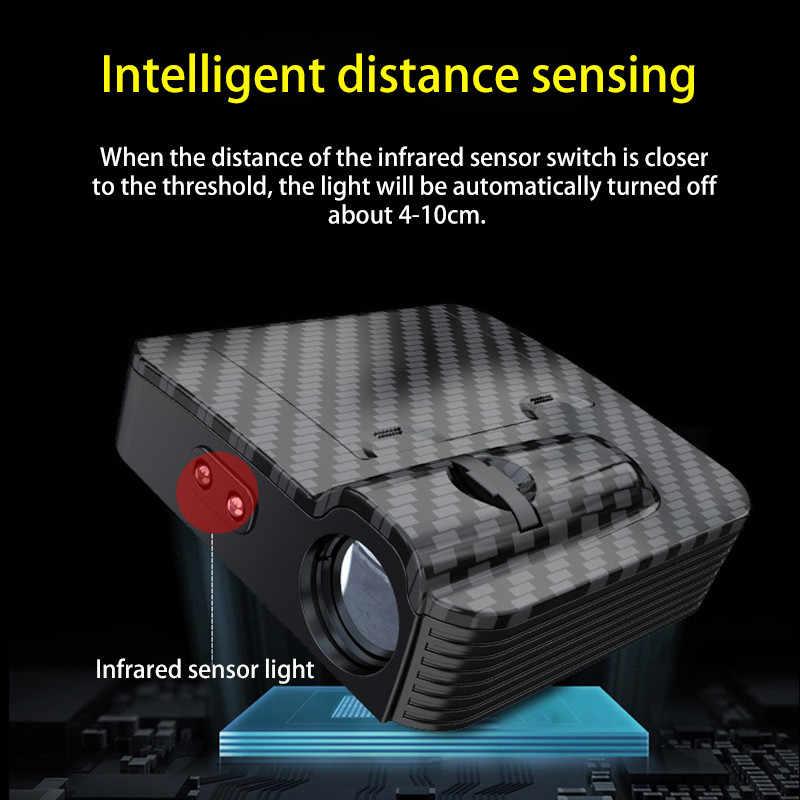 1 шт. lnfrared зондирующая Автомобильная дверь Беспроводная приветственная лампа универсальная проекционная лампа беспроводной Точечный светильник приветственный светильник для Toyota BMW
