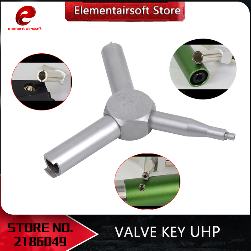 Element Airsoft Valve Key For KSC WA Gas Magazine Charging Valve Removal Tool Disassemble Value Of Gas Hunting Accessory PA0401
