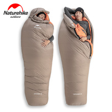 2020 New Naturehike  21°C Goose Down Sleeping Bag 750FP Professional Outdoor Camping Hiking Warm Waterproof  Mummy Sleeping Bag