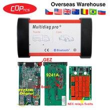 Multidiag pro с OBD2 bluetooth TCS PRO CDP pro Plus R3 keygen код ридер OBDII OBD2 диагностический инструмент для автомобиля/грузовика