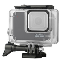 Waterproof Housing Shell Case for GoPro HERO7 White/Silver Aciont Camera Diving Protective Housing Case 45m with Anti Fog(China)