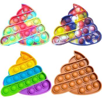 2021 nowy kolor stołek Push Pop Pop Bubble zmysłowa zabawka spinner s silikonowe zabawki antystresowe wycisnąć zabawka Pop It zabawka spinner tanie i dobre opinie HAIMAITONG CN (pochodzenie) not eat