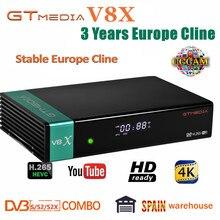 New GTmedia V8X Satellite TV Receiver Freesat V8 Super Updat