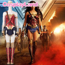 Wonder Woman 2 Cosplay Costume Diana Princess Crown Halloween Party Superhero Suit WW84 Outfit Uniform Props Custom Made Boots women girls superhero alien starfire teen titans go outfit cosplay halloween costume princess koriand r suit xmas birthday gift